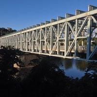 Photo taken at Falls Bridge by Noel on 9/28/2013