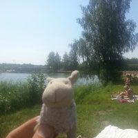 Photo taken at Ozolnieku Wakeboard by Rrolis R. on 7/5/2014