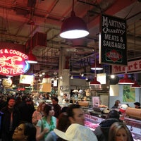 Photo taken at Reading Terminal Market by Eat Drink & Be Philly o. on 3/9/2013