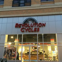 Photo taken at Revolution Cycles by René R. on 10/15/2015