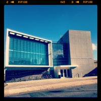 Photo taken at S.I. Newhouse School of Public Communications by Eunice K. on 9/27/2012