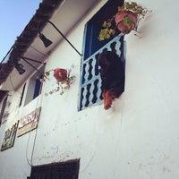 Photo taken at Plaza de San Blas by Victor B. on 2/17/2013