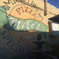 Photo taken at Mike's Pizza & Pub by Allison K. on 3/24/2015