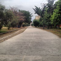Photo taken at Parque El Ejército by Emmanuel B. on 2/8/2013