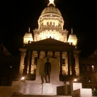 Photo taken at Illinois State Capitol by Jake S. on 4/15/2013