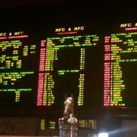 Photo taken at The Mirage Race & Sports Book by Jake S. on 1/18/2013