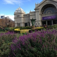 Photo taken at Royal Exhibition Building by Hannah T. on 7/7/2013