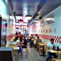 Photo taken at Five Guys by Nikolaos P. on 5/28/2013