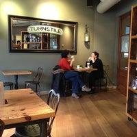 Photo taken at Turnstile Coffee by Skye&Raine on 3/6/2013