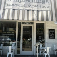Photo taken at Simplethings Sandwich & Pie Shop by Sarah R. on 6/22/2013