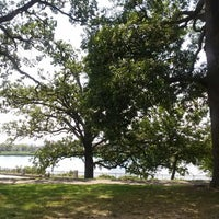 Photo taken at Druid Hill Park Lake Loop by Sally C. on 8/10/2014
