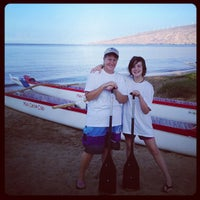 Photo taken at Maui Canoe Club by Penny P. on 9/21/2012