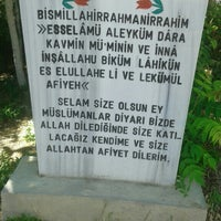 Photo taken at Hocacihan Mezarlığı by Serqan H. on 7/6/2016