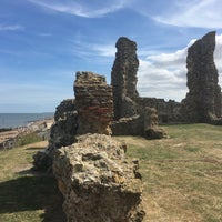 Photo taken at Reculver Towers and Roman Fort by FDF on 8/13/2016