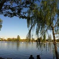 Photo taken at Lago de la Casa de Campo by Linda S. on 4/21/2013