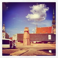 Photo taken at Strēlnieku laukums | Square of Latvian Riflemen by Dmitry K. on 6/23/2013
