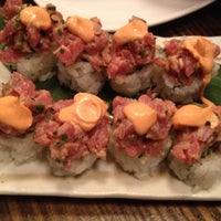 Photo taken at Pubbelly Sushi by Mariana D. on 11/3/2012