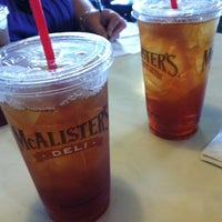 Photo taken at McAlister's Deli by JJ G. on 9/1/2012