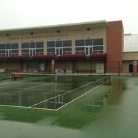 Photo taken at Billingsley Tennis Center by Jared L. on 1/25/2013