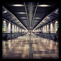 Photo taken at Serangoon MRT Interchange (NE12/CC13) by Marek K. on 5/20/2013