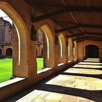 Photo taken at Main Quadrangle by Jay A. on 12/16/2012