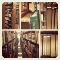 Photo taken at University Library by Roxana S. on 10/4/2012