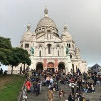 Photo taken at Basilique du Sacré-Cœur de Montmartre by Raymond D. on 10/25/2016