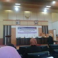 Photo taken at Auditorium BPK RI Pwk Prov. Jambi by Ndy N. on 4/1/2013