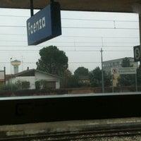 Photo taken at Stazione Faenza by William F. on 11/17/2012
