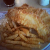 Photo taken at Cockney Kings Fish & Chips Ltd by Rob W. on 12/12/2012