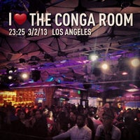 Photo taken at The Conga Room by Jamieson A. on 3/3/2013