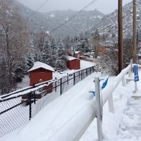 Photo taken at Pikes Peak Cog Railway by So Young L. on 2/1/2014