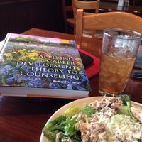 Photo taken at la Madeleine Country French Café by Joe S. on 7/31/2014