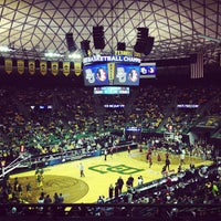 Photo taken at Ferrell Center by Brittany N. on 3/27/2013