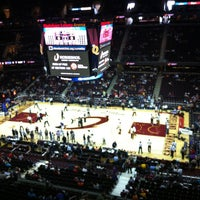 Photo taken at Quicken Loans Arena by Dilsad S. on 4/7/2013