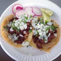 Photo taken at Tacos El Gavilan by Jamison N. on 8/8/2013