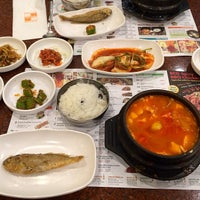 Photo taken at BCD Tofu House by Jamison N. on 10/18/2013