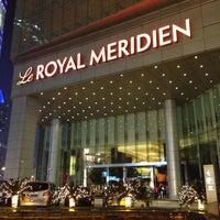 Photo taken at Le Royal Méridien Shanghai   上海世茂皇家艾美酒店 by Jamison N. on 3/21/2013
