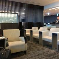 Photo taken at ANA Lounge - Main Bldg. North by Takuya N. on 12/26/2012