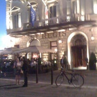Photo taken at The St. Regis Florence by Ann B. on 9/14/2012
