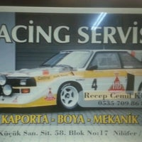 Photo taken at Racing Servis by Recep K. on 9/16/2016