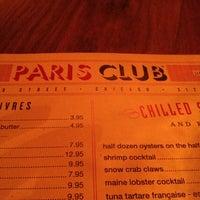 Photo taken at Paris Club Bistro & Bar by Liz M. on 3/17/2013