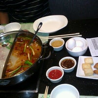 Photo taken at Little sheep Mongolian Hot Pot by Jenny L. on 10/5/2012