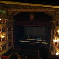 Photo taken at Teatro Sociale di Mantova by Marco M. on 3/8/2013