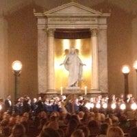 Photo taken at Vor Frue Kirke by MajkenP on 10/12/2012