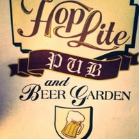 Photo taken at Hoplite Pub and Beer Garden by James A. on 5/12/2016