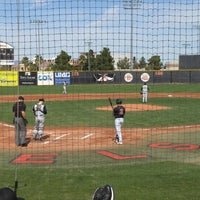 Photo taken at Earl E. Wilson Baseball Stadium by Jeni R. on 2/28/2016
