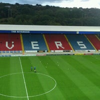 Photo taken at Ewood Park by Satoshi U. on 9/21/2012