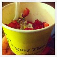 Photo taken at Yogurt Time by Karma D. on 2/8/2013