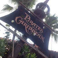 Photo taken at Pirates of the Caribbean by Sergio B. on 9/14/2013